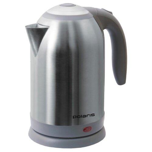 Чайник Polaris PWK 1864CA, серый чайник электрический polaris pwk 1864ca 1800вт бордовый