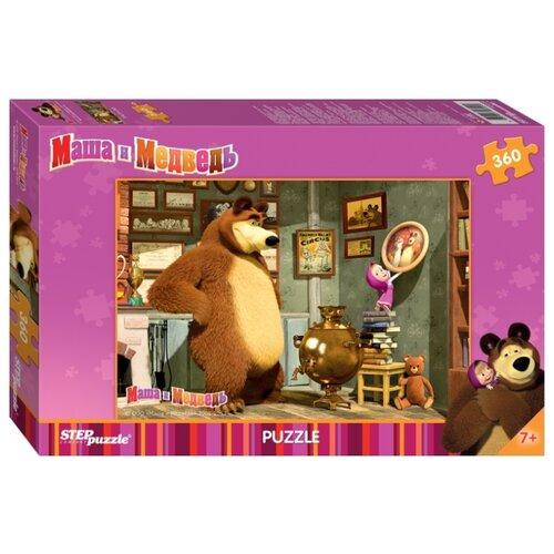 Купить Пазл Step puzzle Маша и Медведь Анимаккорд (96020), элементов: 360 шт., Пазлы
