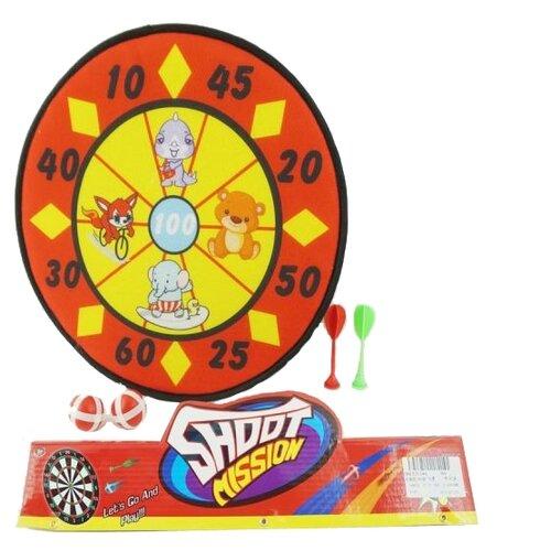 Купить Дартс Shantou Gepai Зверята на липучке (366), Спортивные игры и игрушки