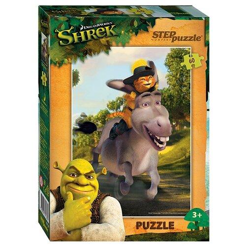 Фото - Пазл Step puzzle DreamWorks Кот в сапогах (81136), 60 дет. пазл step puzzle dreamworks trolls 94056 160 дет