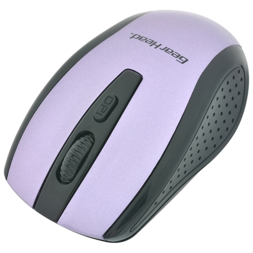 Мышь Gear Head MP2425PUR Purple USB