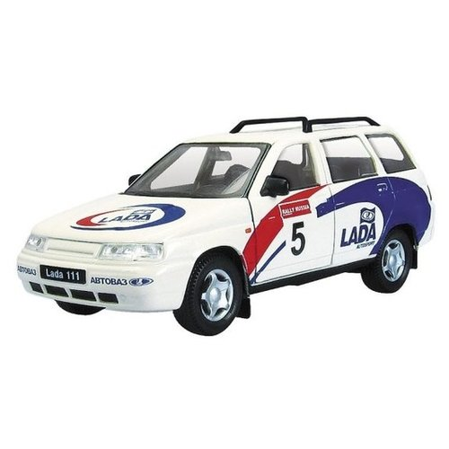 Легковой автомобиль Autogrand Lada 111 спорт (2737) 1:36 11.5 см белый/синий/красный