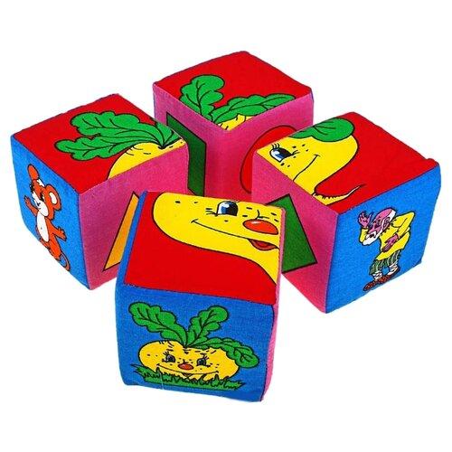 Купить Кубики-пазлы Дельфин Репка Д-22-10, Детские кубики