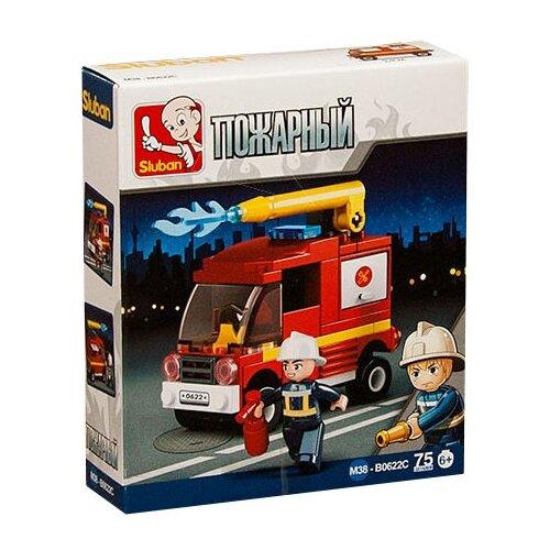 Купить Конструктор SLUBAN Пожарные спасатели М38-B0622C, Конструкторы