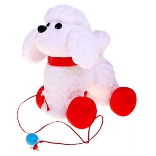 Купить Каталка-игрушка Сима-ленд Фафик (585422) белый/красный, Каталки и качалки