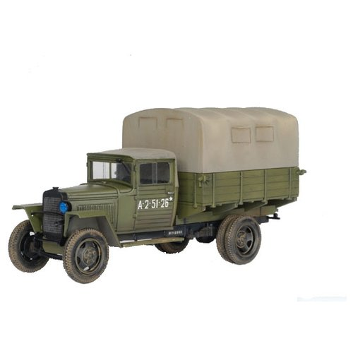 Купить Сборная модель ZVEZDA Советский армейский грузовик 1, 5т образца 1943 г. Полуторка (ГАЗ–ММ) (3574) 1:35, Сборные модели