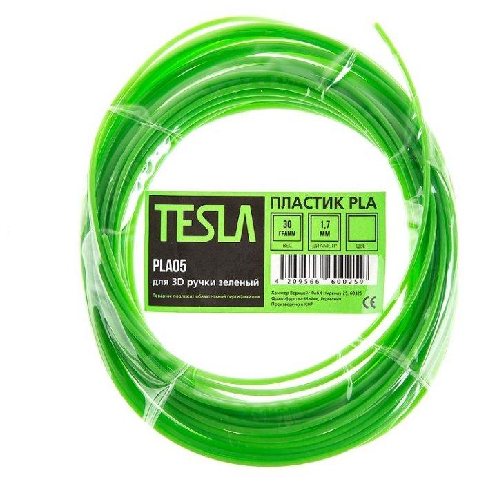 PLA пруток TESLA 1.70 мм зеленый