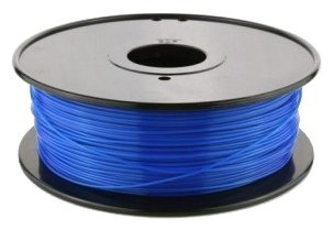 ABS пруток FL-33 1.75 мм синий флуоресцентный