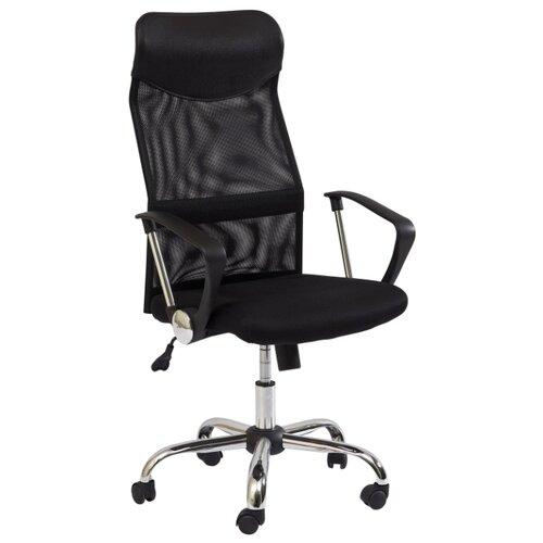 Компьютерное кресло SIGNAL Q-025 офисное, обивка: текстиль, цвет: черный/черный