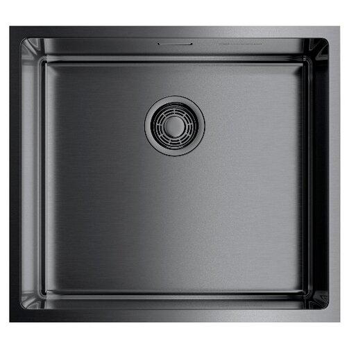 Фото - Интегрированная кухонная мойка 49 см OMOIKIRI Taki 49-U/IF-GM вороненая сталь кухонная мойка omoikiri taki 44 u if lg 4973520