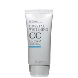 3W Clinic Crystal Whitening CC крем SPF50 50 мл