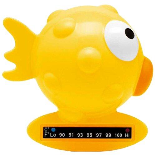 Купить Безртутный термометр Chicco Рыба-шар желтый, Термометры