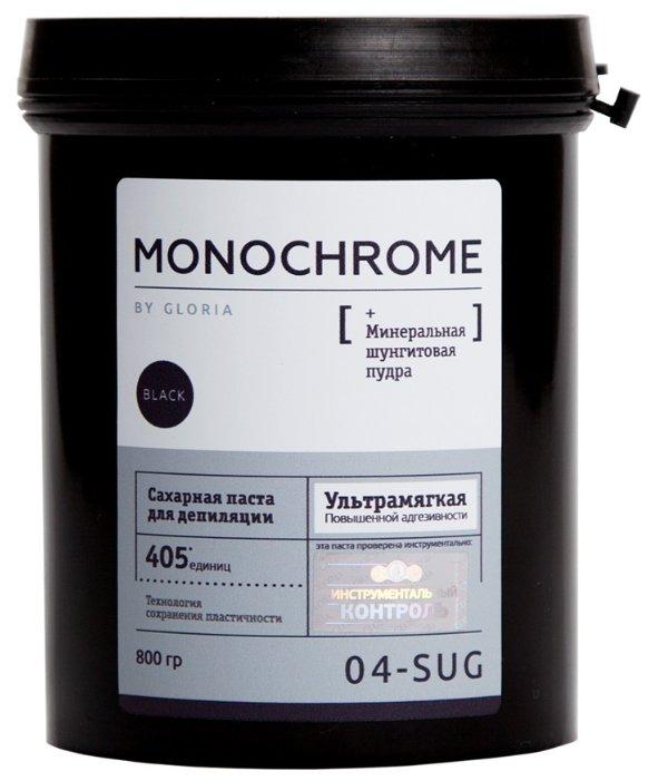 Сахарная паста MONOCHROME GLORIA ультрамягкая 800гр Gloria 01441