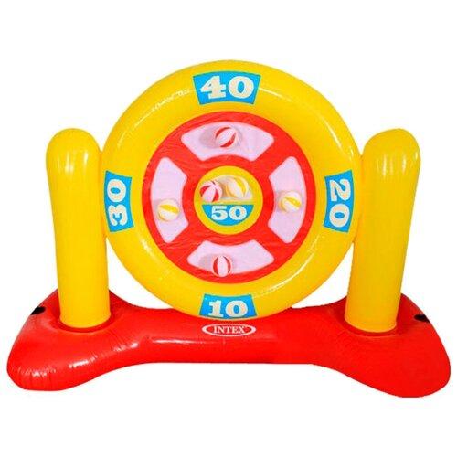 Игровой надувной набор Intex Дартс 56509 желтый/красный