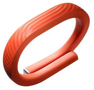 Medium New JAWBONE UP24 Wristband Red MotionX Fitness Bracelet Activity Tracker