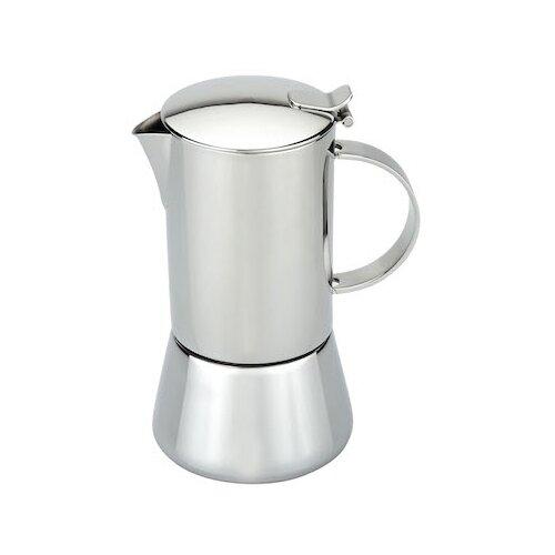 Гейзерная кофеварка GIPFEL Isabella 7119 300 мл, серебристый