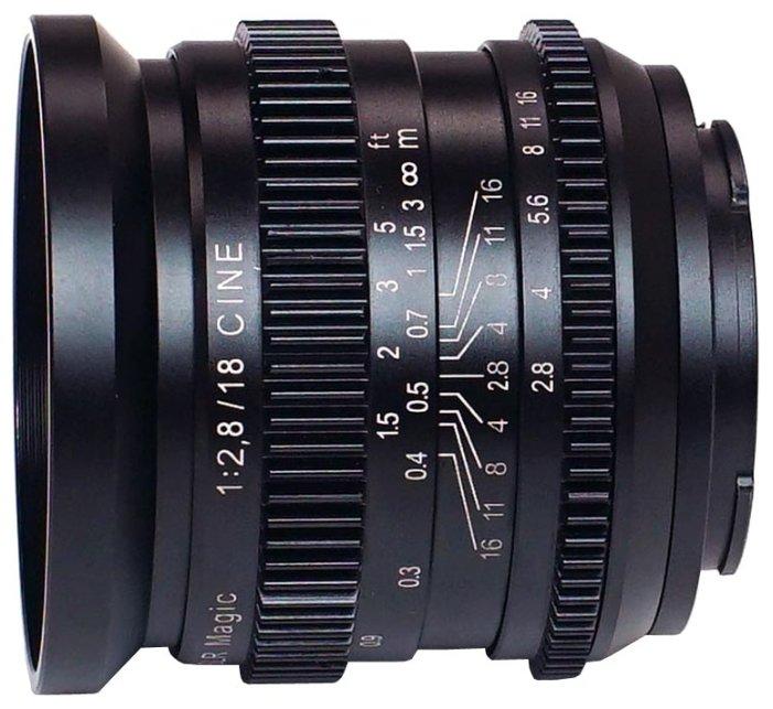 Объектив SLR Magic 18mm f/2.8 CINE Sony E