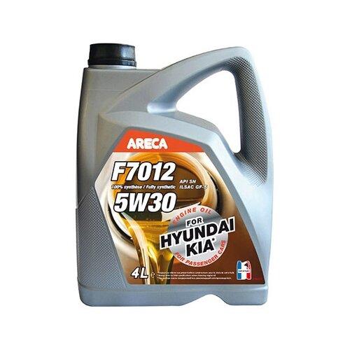Синтетическое моторное масло Areca F7012 5W30 4 л