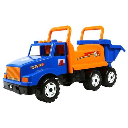 Купить Каталка-толокар Orion Toys МАГ (211) синий/оранжевый, Каталки и качалки