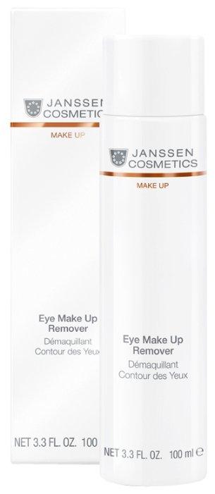 Janssen Cosmetics Dry Skin Eye Make Up Remover - Лосьон для удаления макияжа с глаз, 100 мл