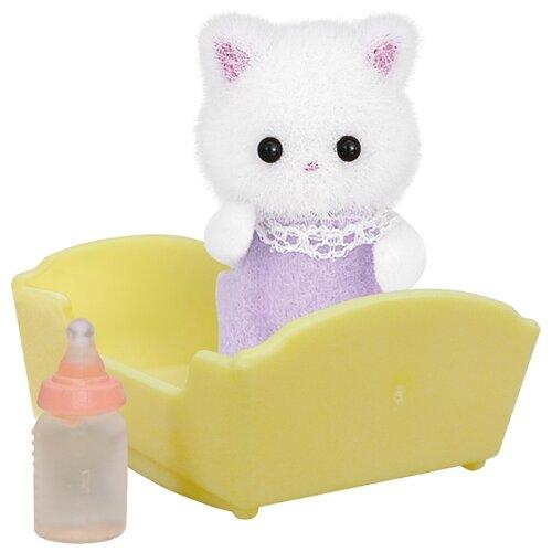 Купить Игровой набор Sylvanian Families Малыш персидский котёнок 5217, Игровые наборы и фигурки