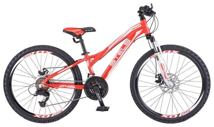 Подростковый горный (MTB) велосипед STELS Navigator 460 MD 24 V021 (2018) Рама 11