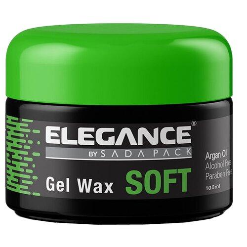 Elegance гель-воск для волос мягкой фиксации Soft Gel Wax с маслом арганы 100 млГели и лосьоны<br>
