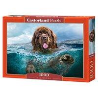 Пазлы Castorland 1000 Пес в воде - C-103478