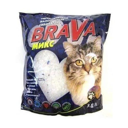 Наполнитель Brava Микс (7.6 л)Наполнители для кошачьих туалетов<br>