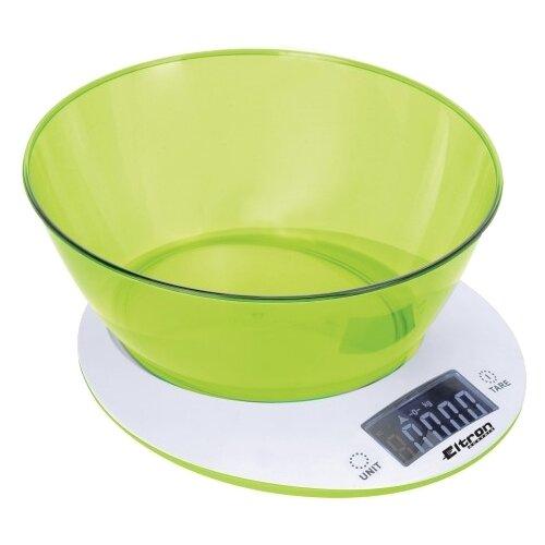 Кухонные весы Eltron EL-9264 белый/зеленый