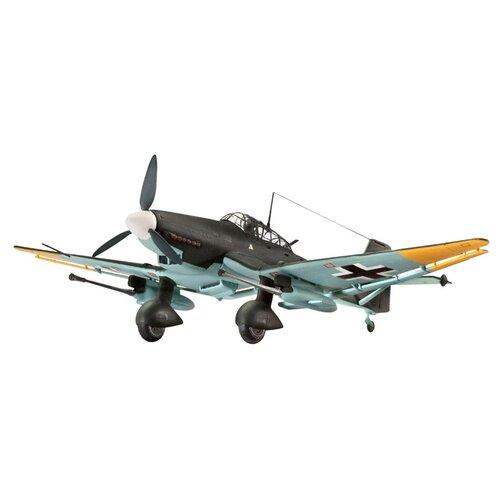 Фото - Сборная модель Revell Junkers Ju 87 G/D Tank Buster (04692) 1:72 сборная модель revell porsche 356 cabriolet 07043 1 16