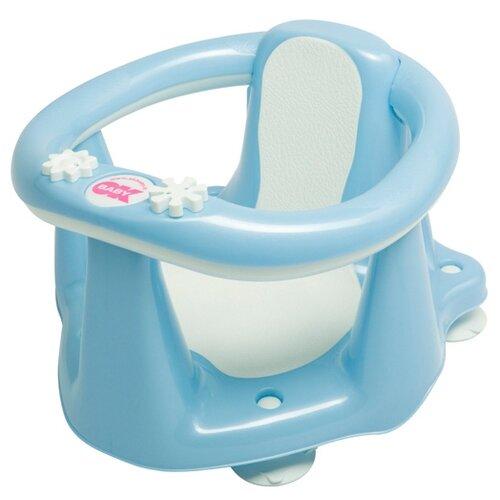 Купить Стул для купания Baby Ok Flipper Evolution 799 голубой, OkBaby, Сиденья, подставки, горки