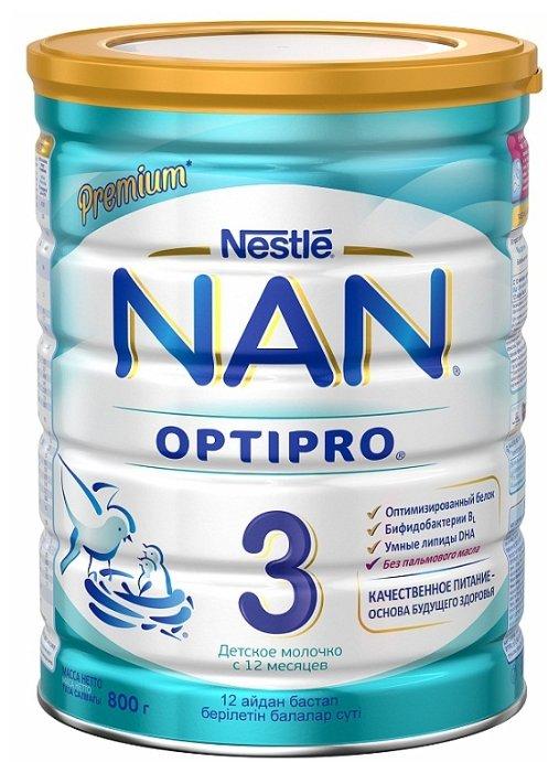 Смесь NAN (Nestle) 3 Optipro (с 12 месяцев) 800 г