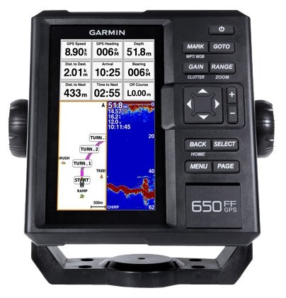 Garmin Fishfinder 650 GPS