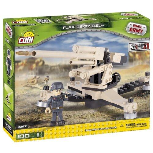 Конструктор Cobi Small Army World War II 2367 Зенитка Флак 36/37Конструкторы<br>