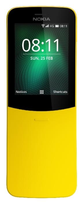 Мобильный телефон Nokia 8110 Dual sim Black