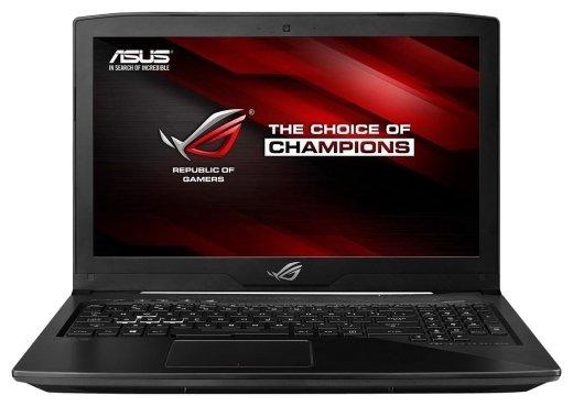 Ноутбук ASUS ROG GL503VM (Intel Core i7 7700HQ 2800 MHz/15.6