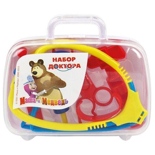 Купить Набор доктора Играем вместе Маша и медведь (MT1092MTP-DA-R), Играем в доктора