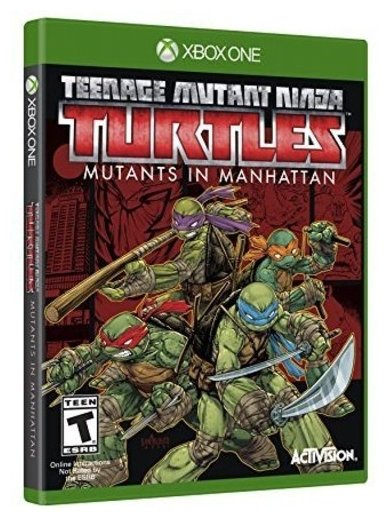 Activision Teenage Mutant Ninja Turtles: Mutants in Manhattan