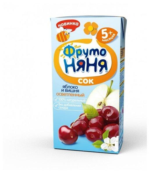 ФрутоНяня Сок из яблок и вишни