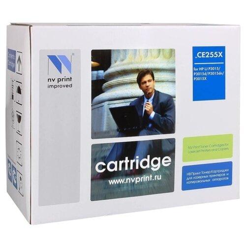 Фото - Картридж NV Print CE255X для HP, совместимый картридж nv print fx 10 для l100 120 mf4010 4140 4330 4660