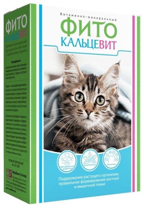 Добавка в корм Фито Кальцевит для кошек