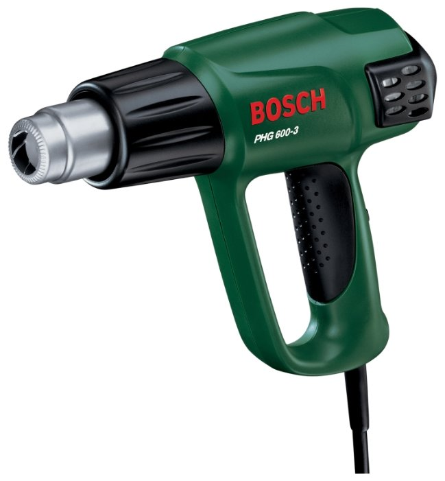 Строительный фен Bosch PHG 600-3 Case 1800 Вт