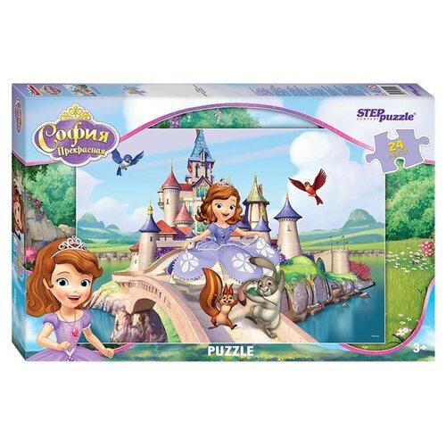 Пазл Step puzzle Disney Принцесса София (90025), 24 дет. детский музыкальный инструмент disney микрофон софия прекрасная принцесса 2698575