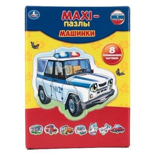 Купить Набор пазлов Умка Maxi Машинки (4690590110065), Пазлы