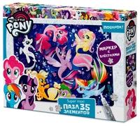 Пазл Origami My Little Pony Поплаваем (03460) , элементов: 35 шт.