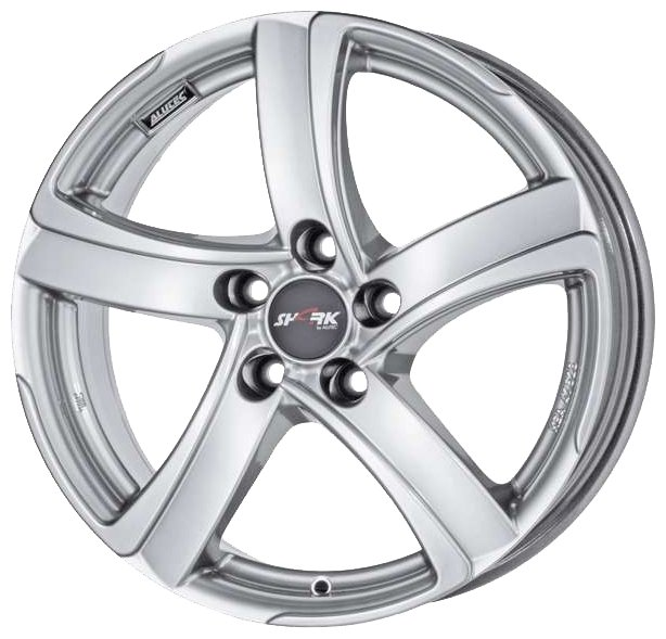 Колесный диск Alutec Shark 8x18/5x100 D63.3 ET35 Silver