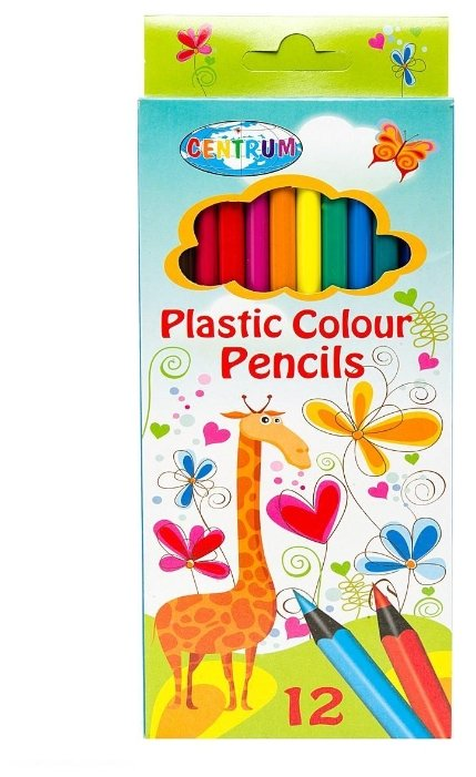CENTRUM Цветные карандаши Giraffe 12 цветов (86141)