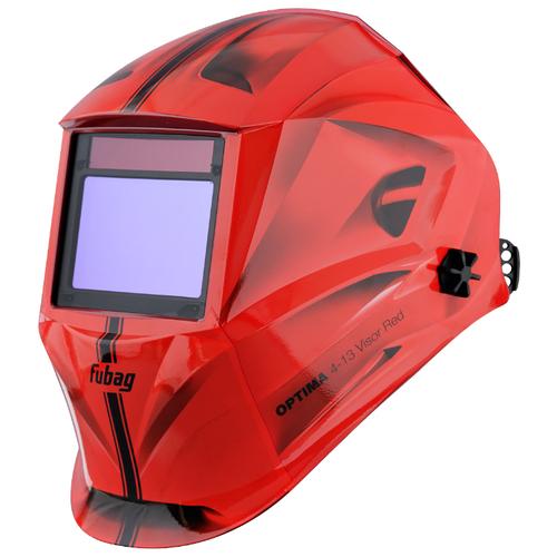 Маска Fubag Optima 4-13 Visor Red маска сварщика fubag хамелеон optima 4 13 38438 visor black