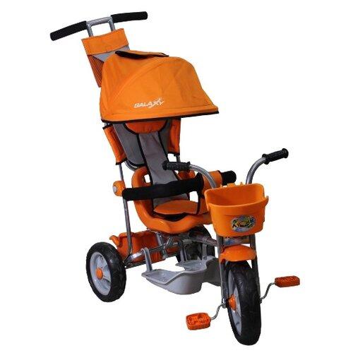 Трехколесный велосипед Galaxy Лучик-1 оранжевый велосипед аист quest disk 26 рама 16 графит оранжевый